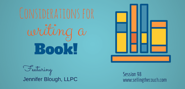 Session 98: Considerations for Writing a Book