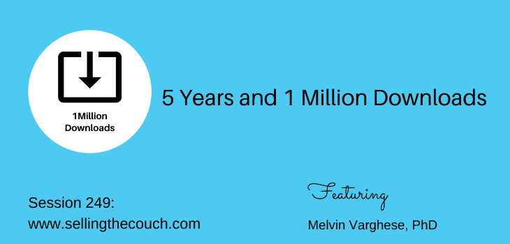 Session 249: 5 Years and 1 Million Downloads: Melvin Varghese, PhD